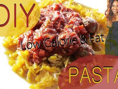 DIY: Pasta | Quick 10 min Recipe | UNDER 350 Calories!!!