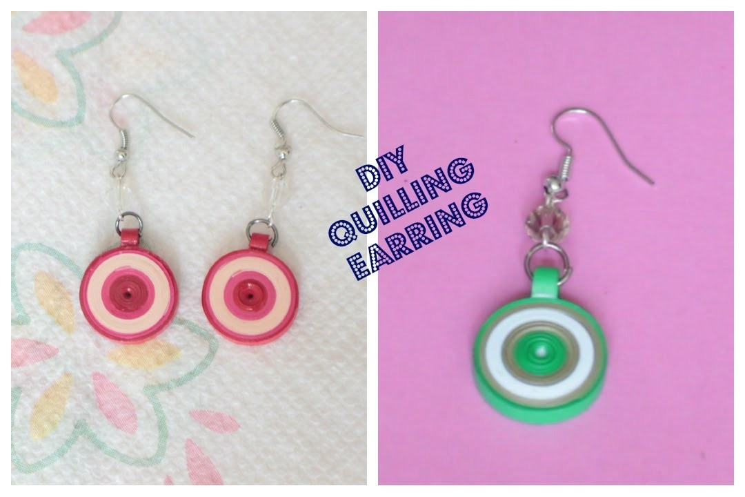 DIY Quilling Earring
