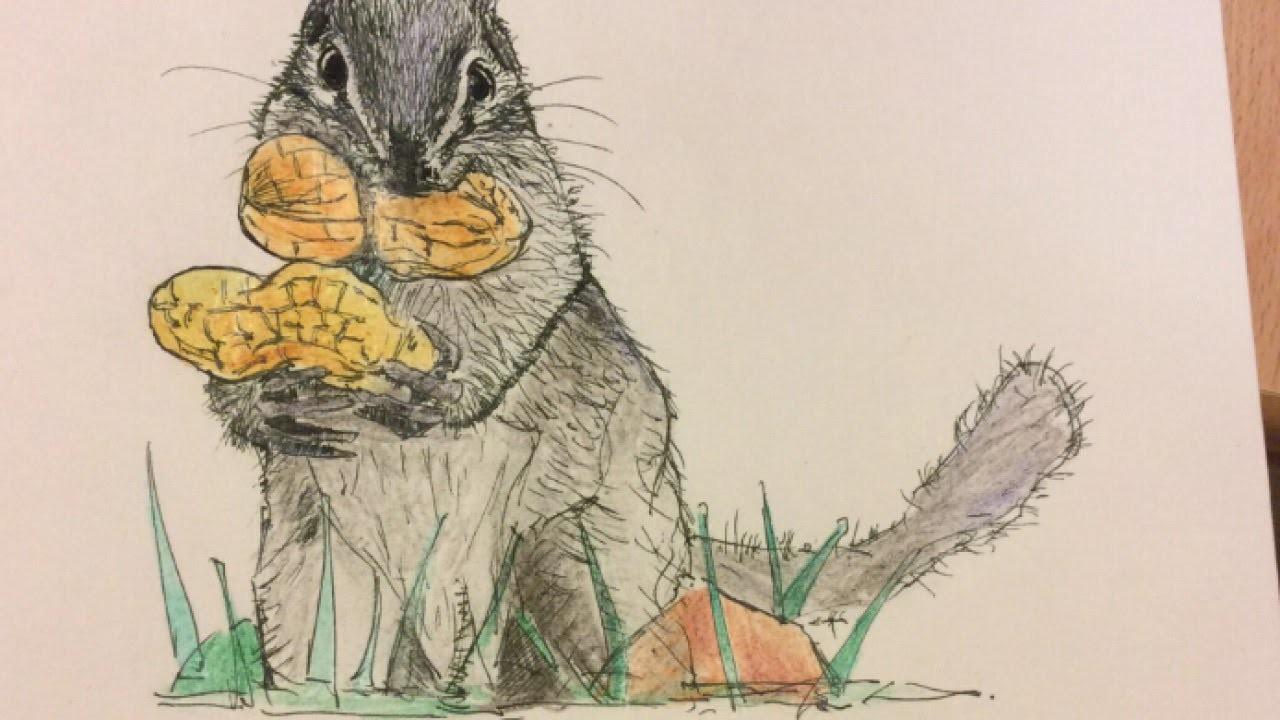Make a Cute Squirrel Paint - DIY Crafts - Guidecentral