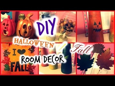 DIY Fall. HALLOWEEN Room Decor | Moni Angel
