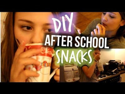 DIY Quick & Easy After School Snacks #2: Cookie dough bites, Oreo cheesecake in a mug and more!