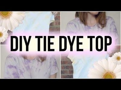 DIY Tie Dye Top! ★