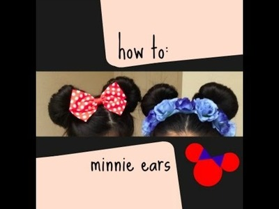 How to DIY: Minnie Mouse Ears