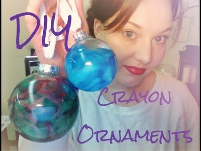 DIY Crayon Ornaments {Pinned there, done that}