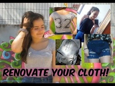 DIY: Renovate Your Clothes! Some ideas! | Laura'since99