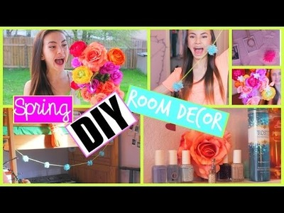 DIY Room Decor for Spring! Tumblr Inspired!  Haley Pham