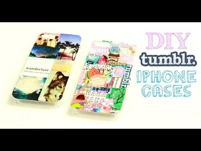 DIY Tumblr Inspired Iphone Cases!