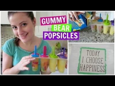 GUMMY BEAR POPSICLES & DIY SHOPPING (5.21.15)