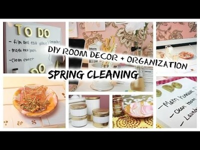 Spring Cleaning: DIY Room Decor.Organization