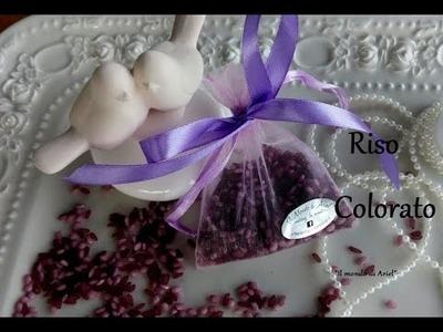 Come colorare il riso per Matrimonio, wedding DIY ,Il mondo di Ariel