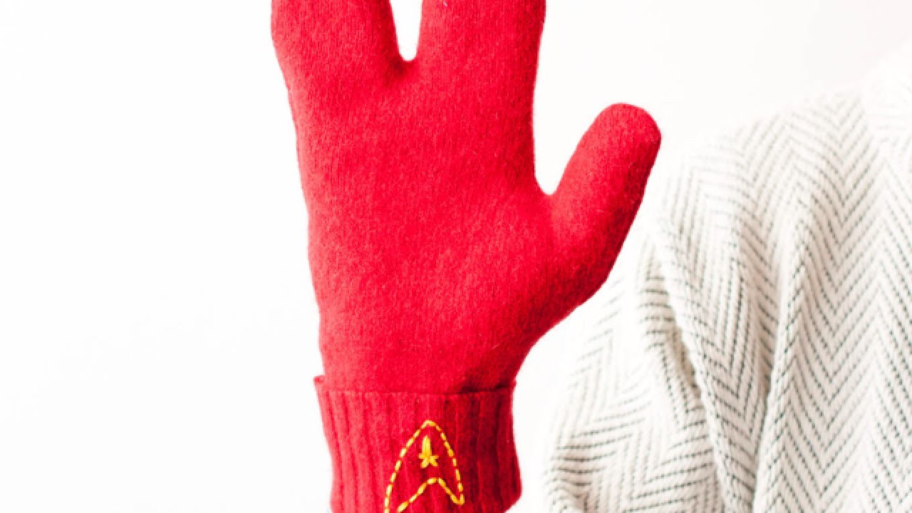 Construct Vulcan-Style Mittens - DIY Style - Guidecentral