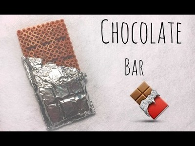 DIY chocolate bar hamabeads perlerbeads pyssla
