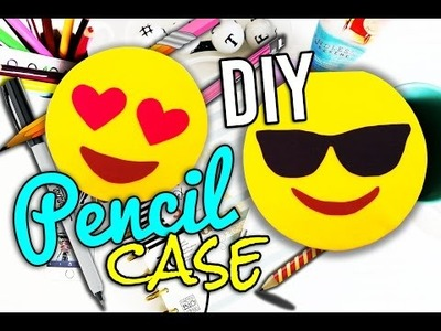 DIY Emoji Pencil Case(estuche) - How to Make - DIY Crafts.School Supplies - MakeWon