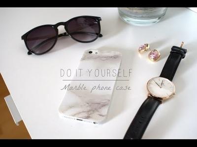 DIY marble case - Tumblr inspired - Csináld magad telefontok