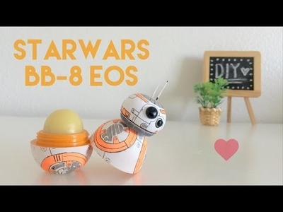 DIY StarWars BB-8 EOS Lip Balm