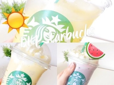 ♡DIY Summer Starbucks Drinks♡