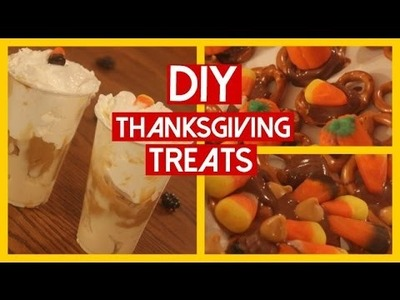 DIY Thanksgiving Treat Ideas | 2014