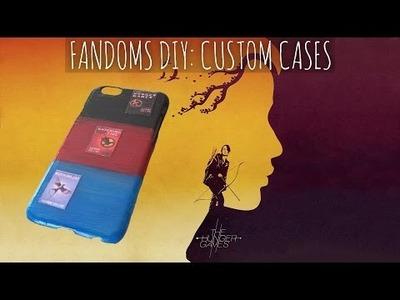 Fandoms DIY: Custom Cases!