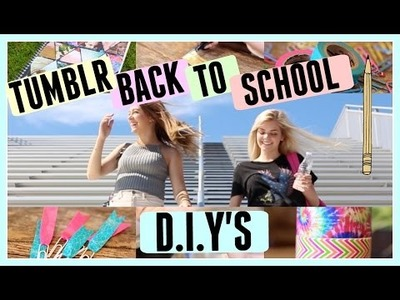 BACK TO SCHOOL D.I.Y | Griffin Arnlund