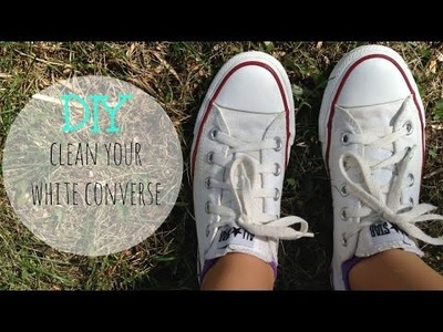 DIY Clean Your White Converse