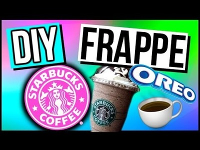 DIY Starbucks Oreo Frappuccino!!!!! | CartneyBreanne