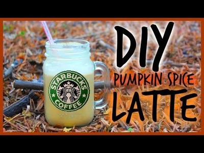 DIY Starbucks Pumpkin Spice Latte. Cheap & Easy!
