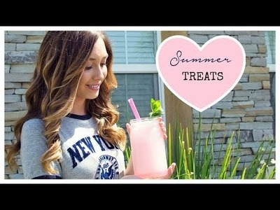 DIY Yummy Summer Drinks to Beat the Heat ~ 2015