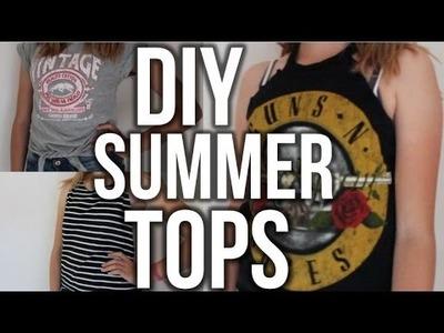 3 DIY Summer Tops ! #CINVI