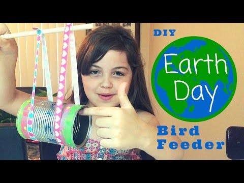 DIY Earth Day Bird Feeder | JazlynnAlexia