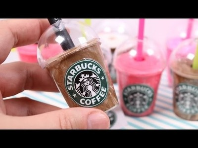 DIY Starbucks Pencil Cup Holder