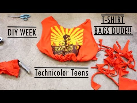DIY T-SHIRT BAG | Sam