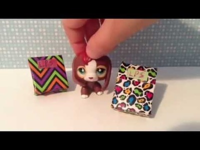 LPS DIY: How To Make A LPS Backpack! (No Sew!)