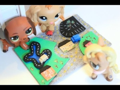 LPS DIY How to make LPS cars and car rug | Pawesome Miniatures!