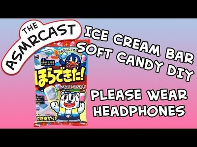 ASMR Coris Ice Cream Bar Soft Candy DIY Kit - Unboxing, Building & Tasting!