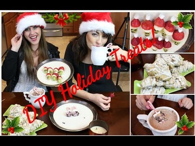 DIY EASY, HEALTHY HOLIDAY TREATS  | Katie Sanford
