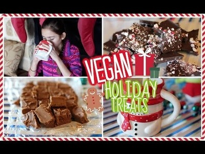 DIY Healthy + Vegan Holiday Treats!