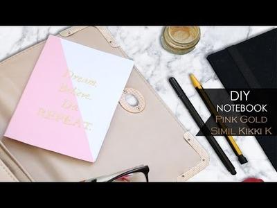 DIY Notebook ▪ Oro Rosa - Pink Gold | Simil Kikki K