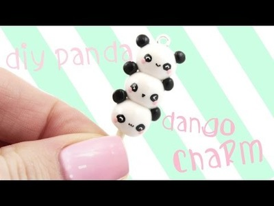 DIY Panda Dango Charm | Kawaii Friday