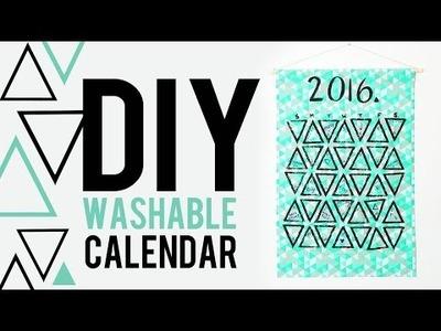 DIY WASHABLE CALENDAR | THE SORRY GIRLS
