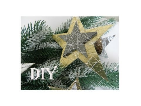 DIY: Weihnachtssterne. Tree Decorations