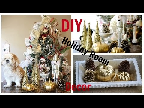 Holiday DIY Room Decor