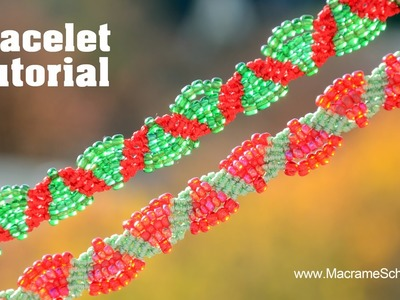 Bubbly Macrame Bracelet Tutorial △▽△▽△
