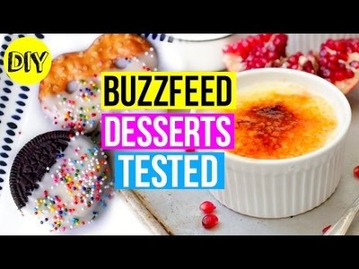 BuzzFeed Desserts Tested! DIY Valentine's Day Treats 2016!