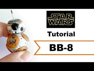DIY BB-8 Droid All Clay |Polymer Clay| Tutorial [COLLAB] w. MsParkPark