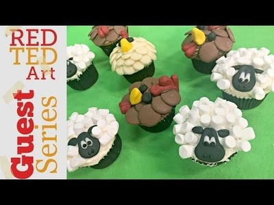 DIY Cupcakes Sheep & Chooks with Katie Pix