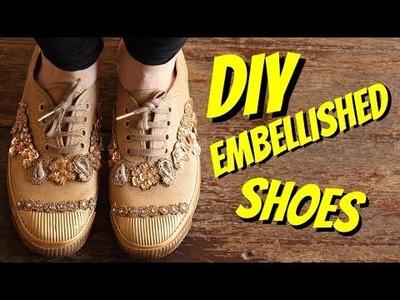 DIY Embellished Shoes!