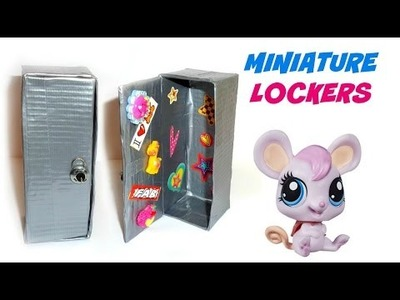 DIY LPS Lockers - DIY LPS Crafts & Stuff