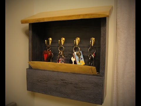 DIY Pallet Wood Key Holder