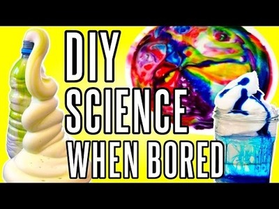 DIY Science Projects To Try When You're Bored | rosaliesaysrawr