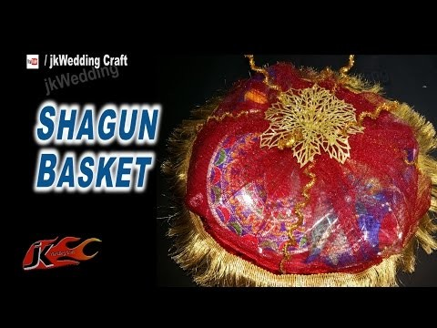 DIY Shagun Basket for Gifting in wedding Trousseau, baby shower | JKWeddingCraft 067